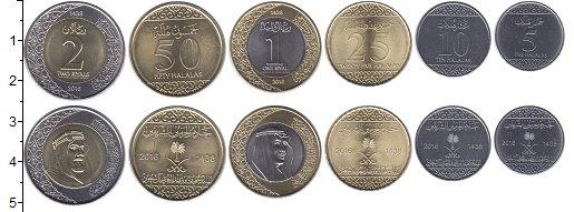 Изображение Наборы монет Саудовская Аравия Саудовская Аравия 2016 2016 Биметалл UNC