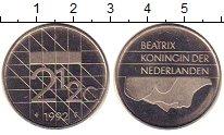 Изображение Монеты Нидерланды 2 1/2 гульдена 1992 Медно-никель UNC-