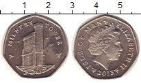 Изображение Монеты Остров Мэн 50 пенсов 2013 Медно-никель UNC-
