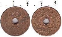 Изображение Монеты Испания 25 сентим 1938 Медь XF