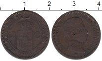 Изображение Монеты Испания 2 сентима 1905 Медь VF