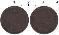 Изображение Монеты Испания Испания 1905 Медь VF