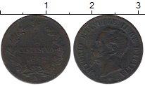 Изображение Монеты Италия 1 сентесимо 1862 Медь VF