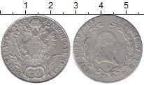 Изображение Монеты Австрия 20 крейцеров 1808 Серебро XF
