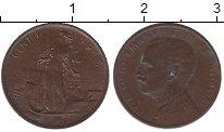 Изображение Монеты Италия 1 сентесимо 1915 Медь XF Виктор  Эммануил III