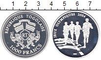 Изображение Монеты Того 1000 франков 2003 Серебро Proof