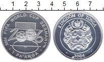 Изображение Монеты Тонга 1 паанга 2004 Серебро Proof