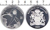Изображение Монеты Малави 50 квач 2006 Серебро Proof