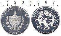 Изображение Монеты Куба 10 песо 2003 Серебро Proof