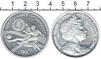 Изображение Монеты Виргинские острова 10 долларов 2004 Серебро UNC