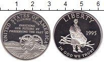 Изображение Монеты США 1/2 доллара 1995 Медно-никель Proof