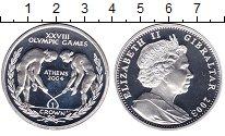 Изображение Монеты Великобритания Гибралтар 1 крона 2003 Серебро Proof