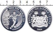 Изображение Монеты Сьерра-Леоне 10 долларов 2004 Серебро Proof
