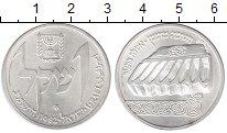 Изображение Монеты Израиль 1 шекель 1982 Серебро UNC-
