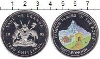 Изображение Монеты Уганда 1000 шиллингов 1993 Медно-никель UNC