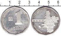 Изображение Монеты Израиль 1 шекель 1988 Серебро Proof-