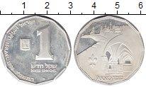 Изображение Монеты Израиль 1 шекель 1986 Серебро Proof-