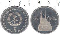 Изображение Монеты ГДР 5 марок 1989 Медно-никель Proof- А   Кирха  Святой  Е