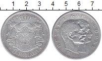 Изображение Монеты Сербия 5 динар 1904 Серебро VF 100-летие династии К
