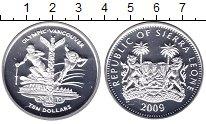 Изображение Монеты Сьерра-Леоне 10 долларов 2009 Серебро Proof