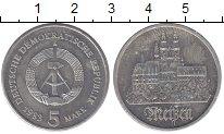 Изображение Монеты ГДР 5 марок 1983 Медно-никель UNC- А   Мейссен.(РЕДКИЙ