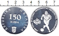 Изображение Монеты Хорватия 150 кун 2006 Серебро Proof