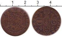 Изображение Монеты Бельгия 1 лиард 1745 Медь VF Льеж