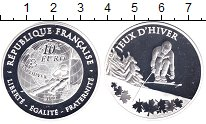 Изображение Монеты Франция 10 евро 2009 Серебро Proof