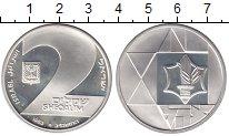 Изображение Монеты Израиль 2 шекеля 1983 Серебро Proof