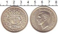 Изображение Монеты Великобритания 1 крона 1937 Серебро UNC