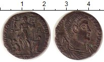 Изображение Монеты Древний Рим 1 майорина 0   Магненций. Редкая об