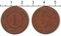 Изображение Монеты Белиз Белиз 1944 Бронза XF
