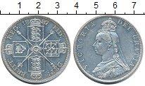 Изображение Монеты Великобритания 2 флорина 1887 Серебро XF+