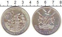 Изображение Монеты Намибия 10 долларов 1995 Серебро Proof-