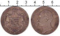 Изображение Монеты Саксен-Майнинген 1 талер 1859 Серебро XF Бернхард