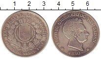 Изображение Монеты Германия Баден 1 талер 1830 Серебро XF