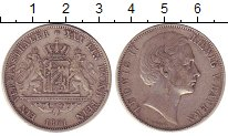 Изображение Монеты Германия Бавария 1 талер 1871 Серебро VF
