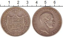 Изображение Монеты Германия Гессен 1 талер 1864 Серебро VF