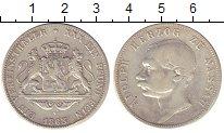 Изображение Монеты Нассау 1 талер 1863 Серебро XF