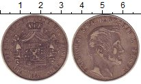 Изображение Монеты Германия Гессен 1 талер 1861 Серебро VF