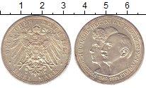 Изображение Монеты Анхальт-Дессау 3 марки 1914 Серебро XF