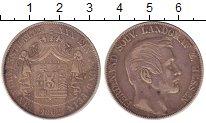 Изображение Монеты Германия Гессен 1 талер 1862 Серебро XF