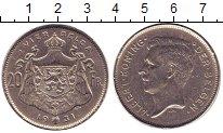 Изображение Монеты Бельгия 20 франков 1931 Медно-никель XF Альберт I.