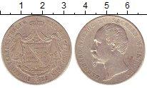 Изображение Монеты Саксен-Майнинген 1 талер 1850 Серебро XF Бернхард.