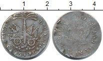 Изображение Монеты Гаити 25 сантим 1817 Серебро VF