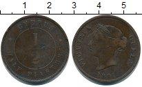 Изображение Монеты Кипр 1/2 пиастра 1891 Бронза VF
