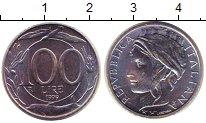Изображение Монеты Италия 100 лир 1999 Медно-никель UNC-