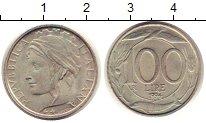 Изображение Монеты Италия 100 лир 1994 Медно-никель UNC-