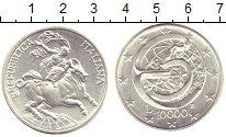 Изображение Монеты Италия 10000 лир 1995 Серебро UNC- 5  лет  в  еврозоне.