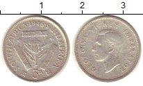 Изображение Монеты ЮАР ЮАР 1945 Серебро XF